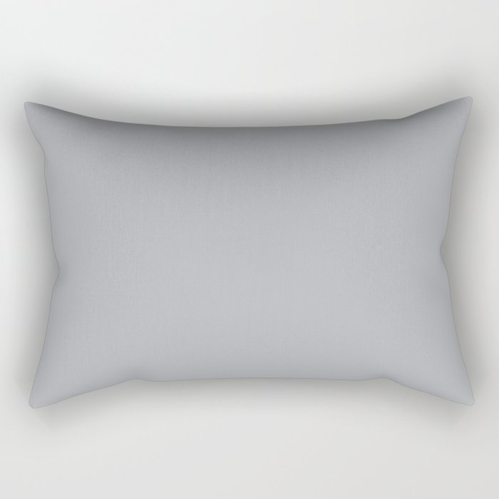 Simply Concrete Gray Rectangular Pillow