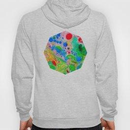Marbling 4, Tie Dye Effect Abstract Pattern Hoody