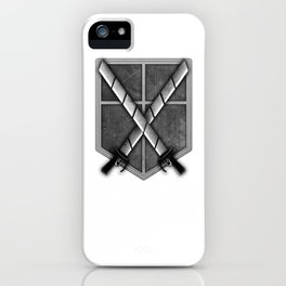 Attack on Titan; Cadet Corps iPhone Case