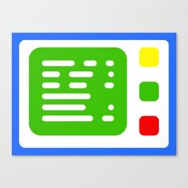 Beta One Command Base Canvas Print