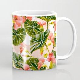 Flowering garden nasturtiums Coffee Mug