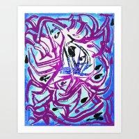 matisse Art Prints featuring Matisse by Jose Luis
