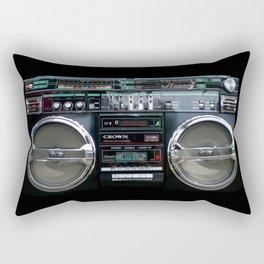 Retro 80's objects - Guetto Blaster Rectangular Pillow