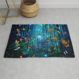 Magical Path Butterflies Rug