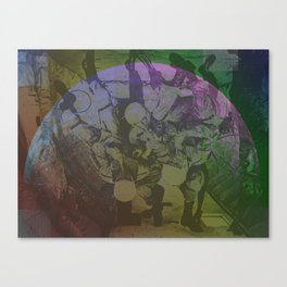 Requirements in the Space Canvas Print