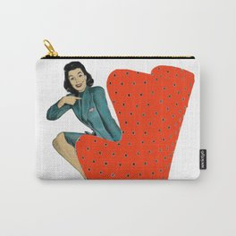 Who Me? 50s Retro Pop Art Carry-All Pouch