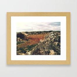 paisatje 1 Framed Art Print