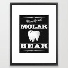 Molar Bear (Gentlemen's Edition) Framed Art Print