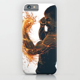 Lava Punch Pacquiao iPhone Case