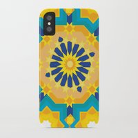 sacred geometry iPhone & iPod Cases featuring Sacred Geometry by Tashi Delek