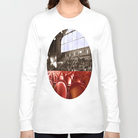 A Gym audience Long Sleeve T-shirt
