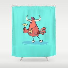 Taurus (Zodiac set) Shower Curtain