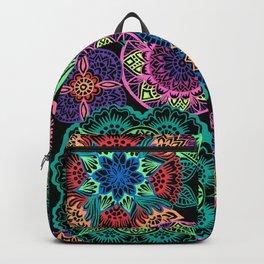 Neon Mandalas Backpack