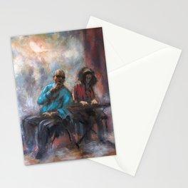 Jazz concert Stationery Cards