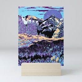 Purple Sierra Mini Art Print