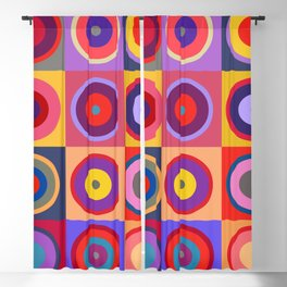 Kandinsky #25 Blackout Curtain