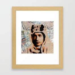 Lawrence of Arabia Framed Art Print