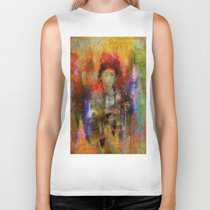 Woman samurai Biker Tank