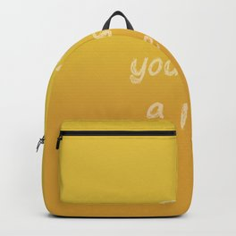 Give Yourself a Rest Backpack