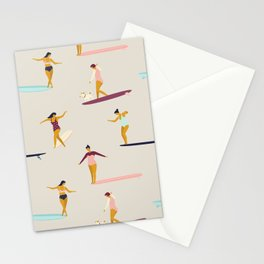 Dancers of the sea Stationery Cards