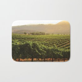 Wine Country Morning Bath Mat