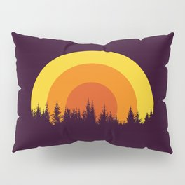 summer mountain Pillow Sham