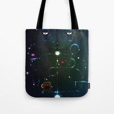Self Portrait: Raid Boss, Coffee and Constellations Tote Bag