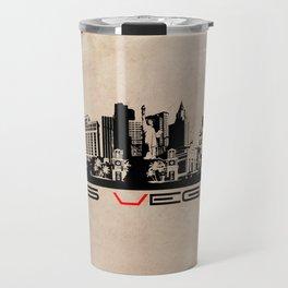 Las Vegas skyline Travel Mug