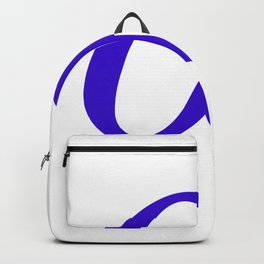 Art.Eco.Project blue Backpack