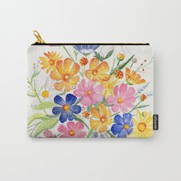 Loose Autumn Bouquet Carry-All Pouch