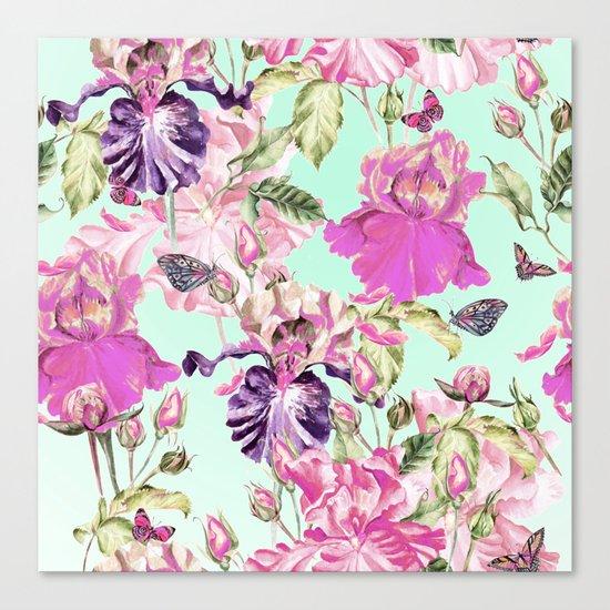 Wild wildflowers Canvas Print