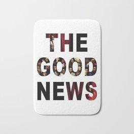 The Good News Title Bath Mat
