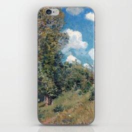 Alfred Sisley The Road from Versailles to Saint-Germain iPhone Skin