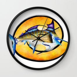Marlinissos V1 - violinfish Wall Clock