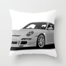 Porsche Car Throw Pillow