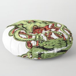 Alien Attack for people who like  fantasy legends and mythical creatures  Floor Pillow