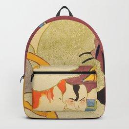 """Henri de Toulouse-Lautrec """"Flirt"""" Backpack"""