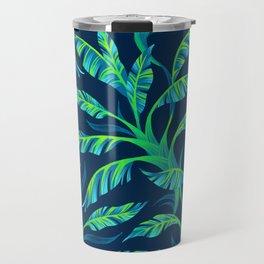 Paradise Leaves - Green Travel Mug