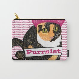 Purrsist Kitty Carry-All Pouch