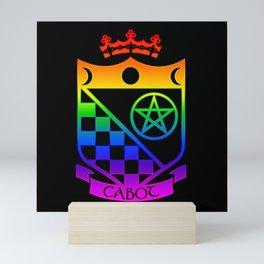 Cabot Crystal Countdown/Alpha Visualizer Mini Art Print