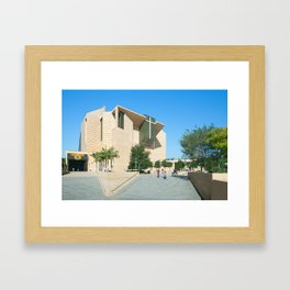 Cathedral Of Our Lady Of The Angels - Los Angeles California Framed Art Print