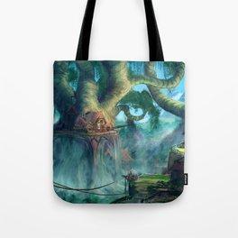 Lost Civilization Tote Bag