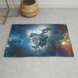 The Scout Ship Rug