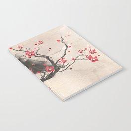 Cherry Blossom Raven Notebook