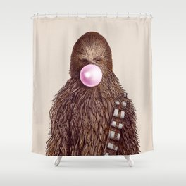 Big Chew Shower Curtain