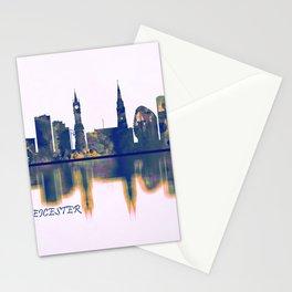 Leicester Skyline Stationery Cards