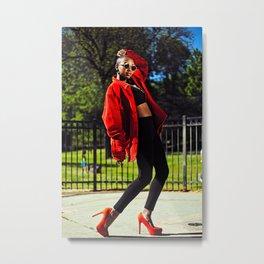 Styled Metal Print