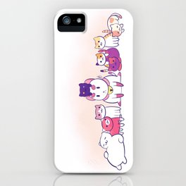 puppycat atsume iPhone Case