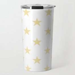 Stars (Vanilla/White) Travel Mug