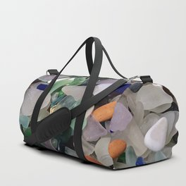 Sea Glass Assortment 6 Duffle Bag
